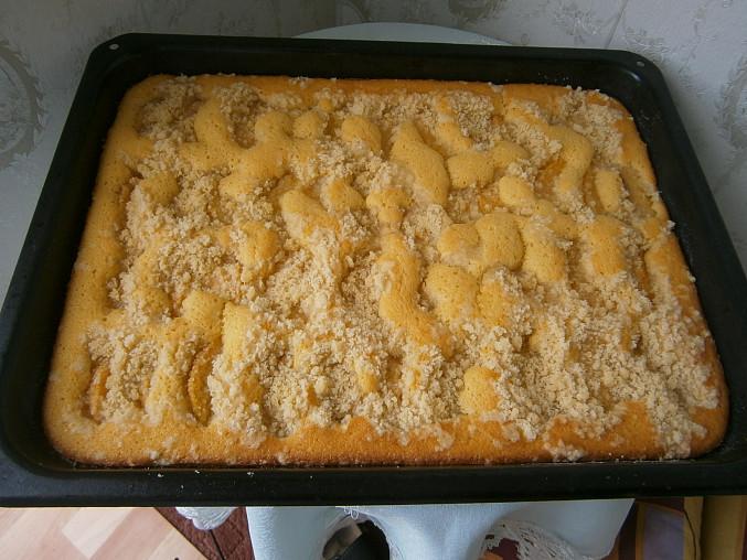 Miluščin křehký koláč s ovocem