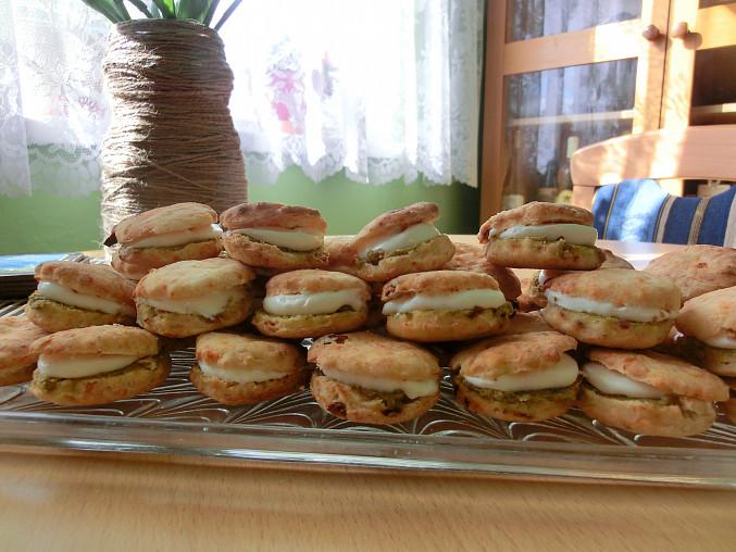 Slané rajčatové koláčky - Almira koulourakia ntomatas