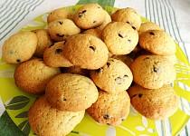 Sušenky s kousky čokolády (cookies)