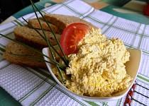 Vegan - vajíčková pomazánka