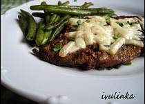 Vepřový steak se sýrem