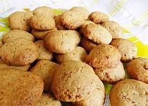 Vločkové sušenky se skořicí