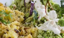 Vynikající salát z čerstvé brokolice