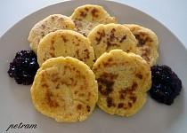 Bramborovo-jáhlové placky s povidly