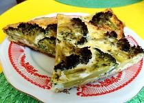 Brokolicový koláč