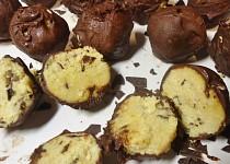 Cizrnové kuličky s čokoládou
