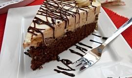 Čokoládový dort s vaječným likérem