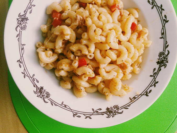 Ďábelské těstoviny, Hotová porce