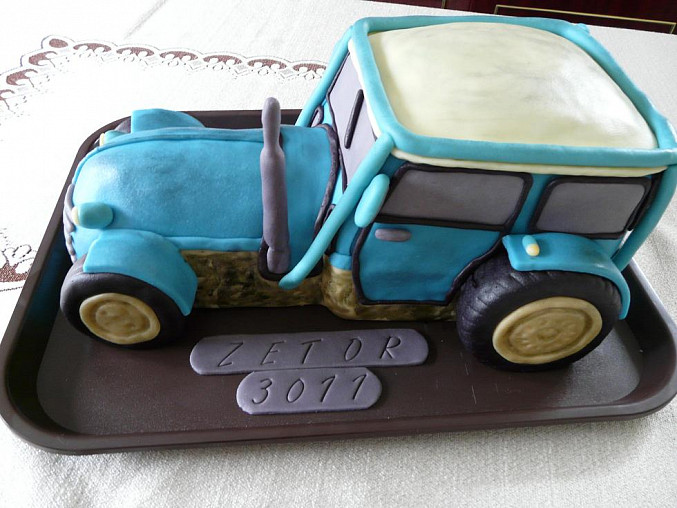 Dort traktor pro známého