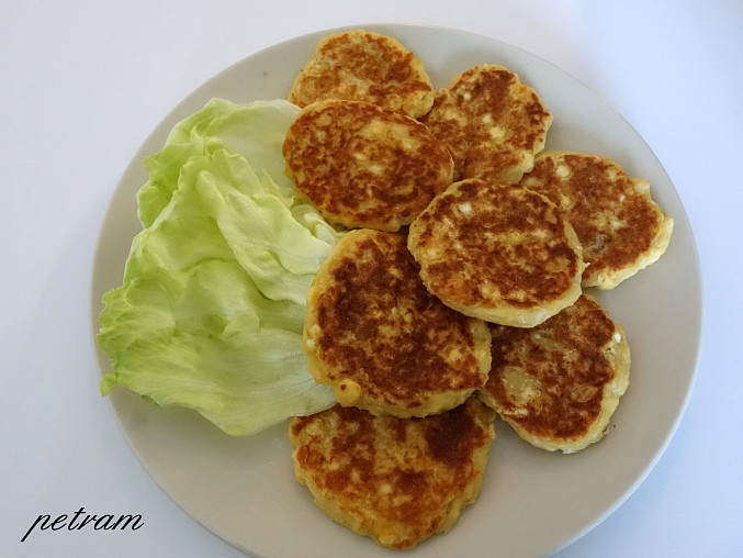 Hrachovo-bramborové placičky