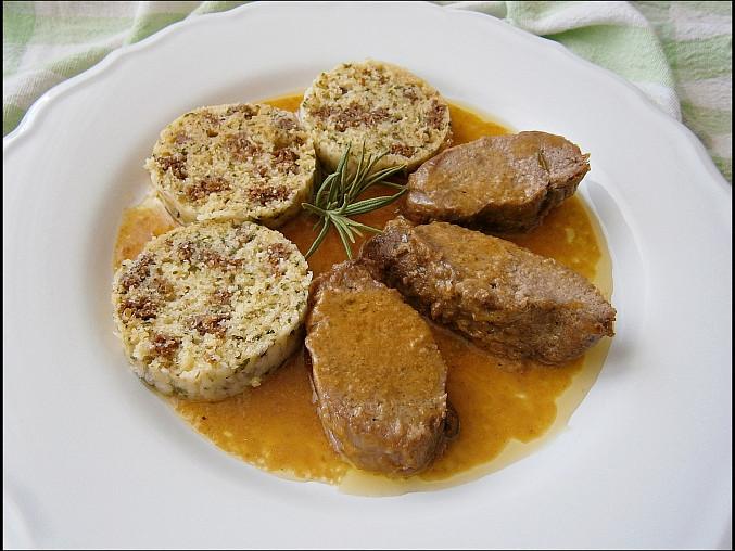 Kančí marinovaná kotleta s máslovou šťávou, Kančí marinovaná kotleta s máslovou šťávou