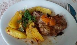 Kuřecí steaky na estragonu a s mandarinkou