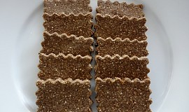 Mandlovo-lněné krekry (bez lepku, mléka a vajec)