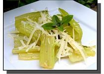 Mangold s máslem a sýrem