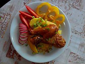 Marinované zlaté kuřecí paličky