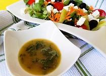 Mátovo - hořčicová zálivka na saláty