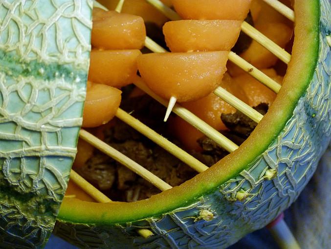 Melounový gril