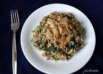 Mujadara (orientální rýže s čočkou)