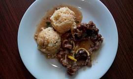Osso buco s šafránovou rýží
