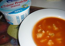 Paprikovo-paradajková polievka