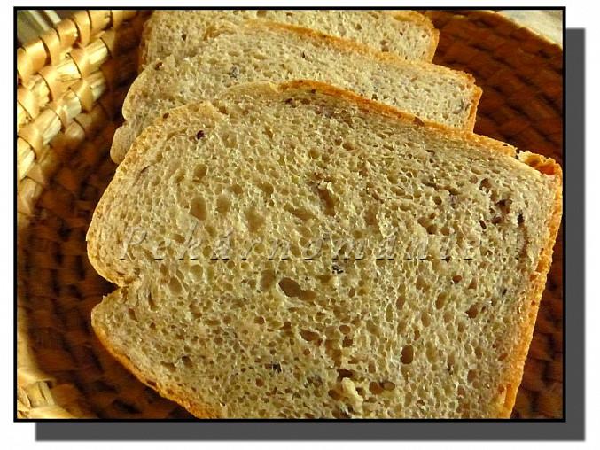 Podmáslový chleba se semínky