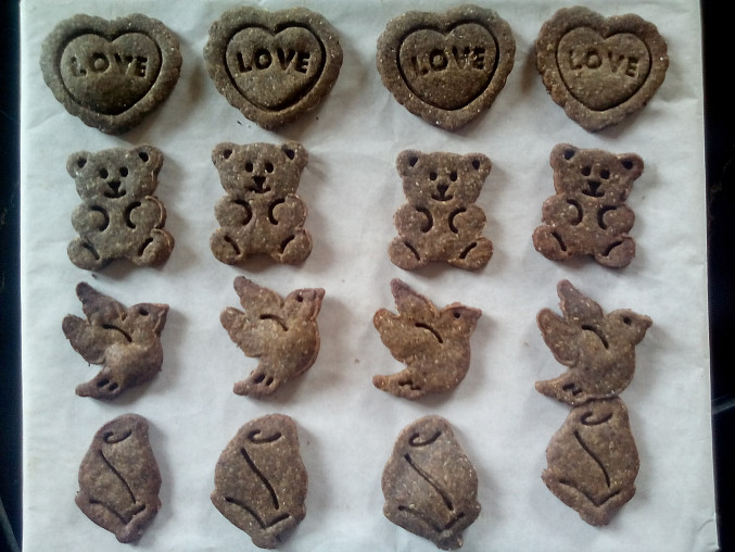 Pohankové sušenky