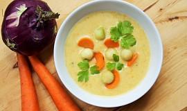 Polévka z kedlubny a mrkve
