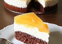 Pomerančový dortík