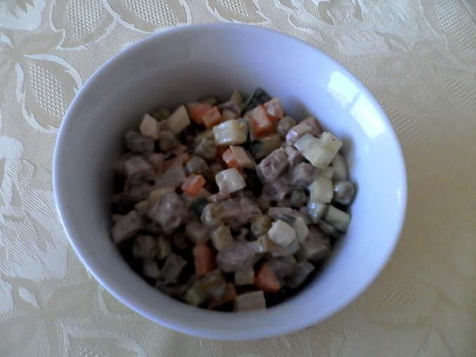 Salát z hovězího masa