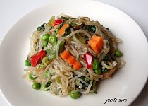 Shirataki nudle (Perfect Pasta) à la čínské nudle I