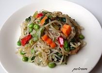Shirataki nudle (Perfect Pasta) à la čínské nudle II