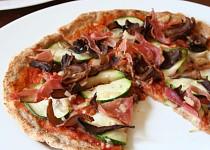 Štíhlá pizza