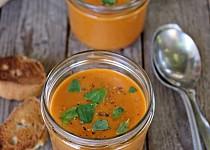 Studená polévka z pečených rajčat