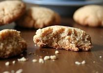 Sušenky z burákového másla
