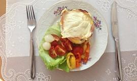 Zapečená Niva se šunkou, sýrem  a vejci