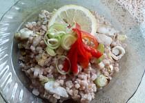Zapečená špalda s aljašskou treskou a kokosovým mlékem