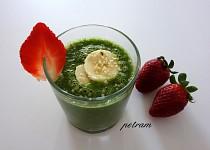 Zelené smoothie s konopným semínkem