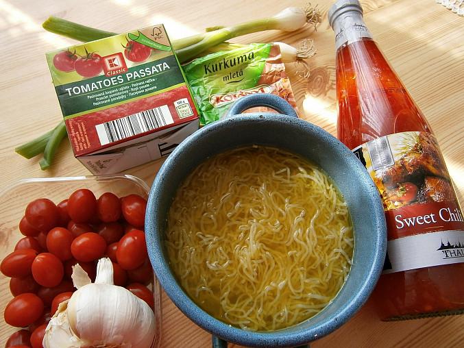 Zeleninové špagety Perfect pasta s pikantní zeleninovou směsí