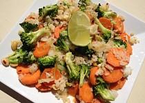 Asijská kokosová rýže se zeleninou