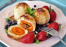 Bezlepkové ovocné knedlíčky