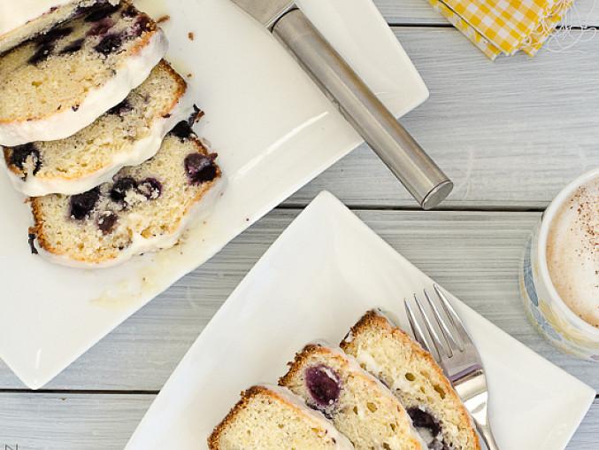 Borůvkovo-citrónový koláč