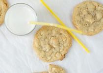 Cookies s bílou čokoládou