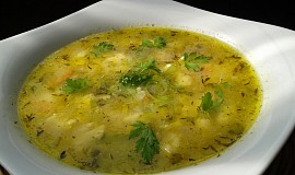 Drožďovo - cuketová polévka s nočky