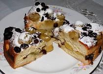 Hroznový chlebokoláč