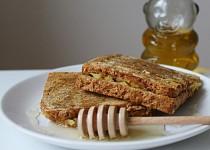 Jablečné toasty s medem