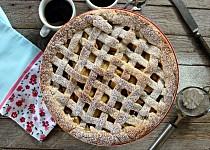 Jablečný koláč s čedarovou krustou