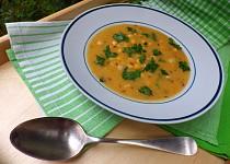 Kmínová polévka s cizrnou