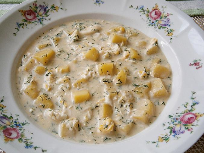 Koprová polévka bez mouky, Koprová polévka bez mouky