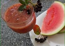 Ledový meloun s aronií