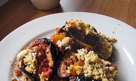 Lilek s rajčaty a tofu ricottou